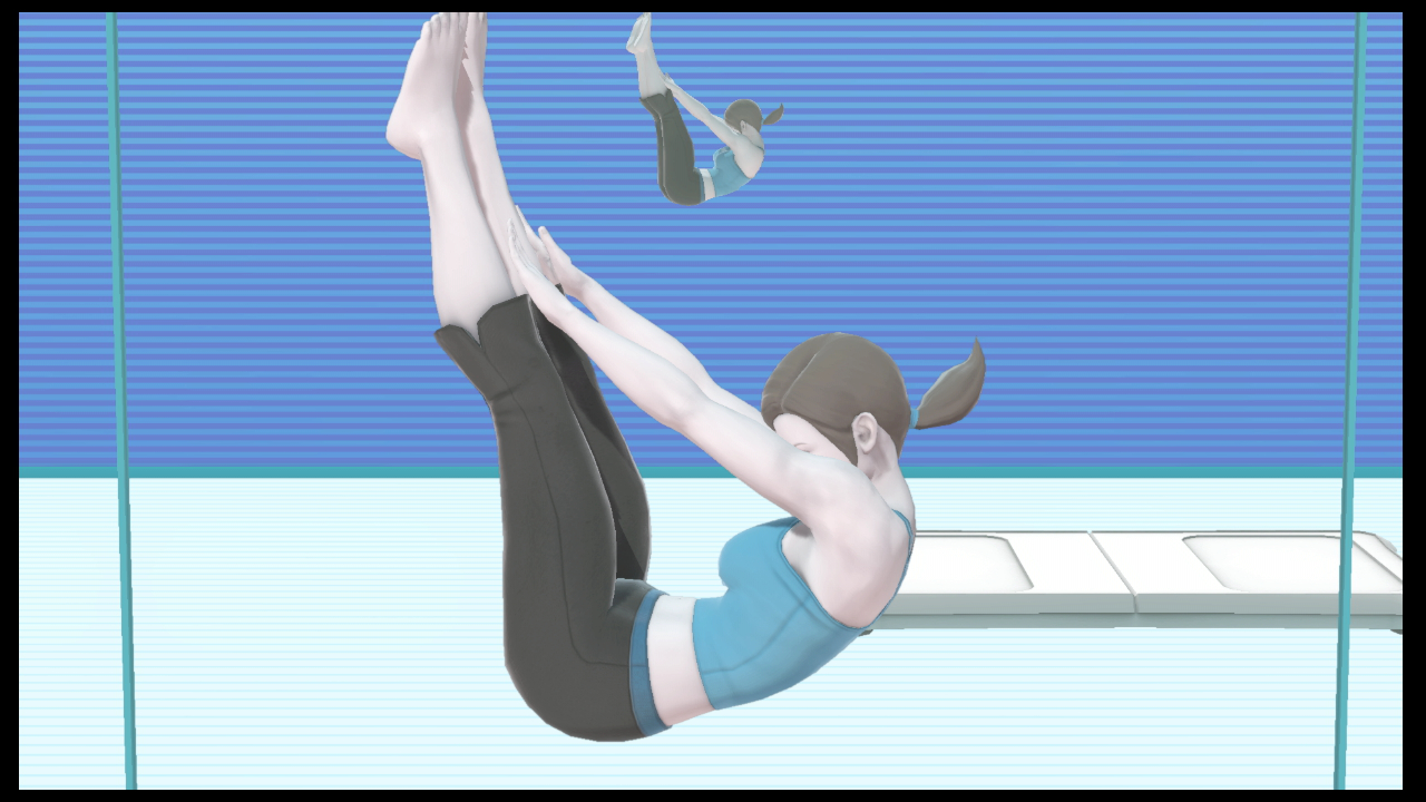 WiiFitトレーナーコンボ
